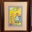 Raggedy Ann  8 x 10 wall hanging item#0306