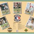 1992 Upper Deck Collectors Shows Promo Sheet