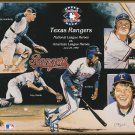 1992 Texas Rangers Upper Deck Sheet Heroes Team Issue UD SGA Toby Harrah Oliver