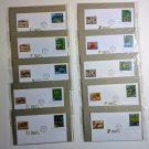 First Day Of Issue Pacific Coast Rain Forest Nature of America Lot of 10
