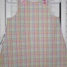 6-9 Months Multi-Color Check Seersucker Dress