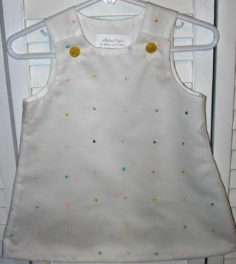 3-6 Months Multi-Color Dot Dress