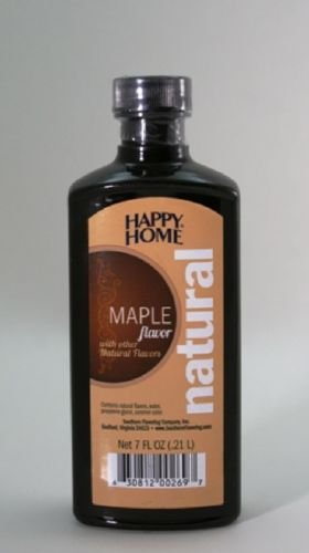 HAPPY HOMES NATURAL MAPLE FLAVOR EXTRACT 7OZ