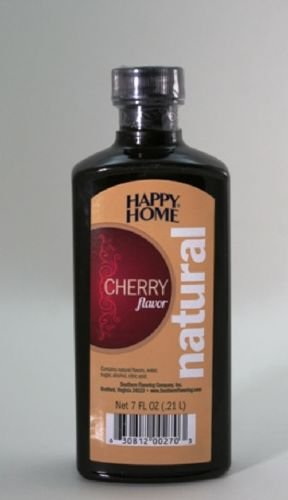 HAPPY HOMES NATURAL CHERRY FLAVOR EXTRACT 7 OZ