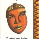 SET OF 12 ASSORTED  AFRICAN AMERICAN GENERAL BIRTHDAY CARDS