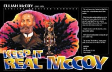African American Inventors Posters Elijah McCoy Invention of Oil Cup for Cars