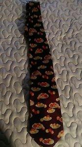 Men's Philadelphis Museum of Art decor silk dress tie