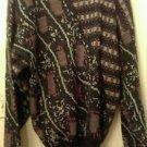 Womens designer Circola Moda Classico knit wool pullover sweater sz large