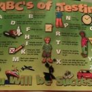 ABC'S of Testing children's motivation poster Multple color Knowledge Unlimited