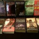 Set of 10 new assorted mystery/suspense/thriller books