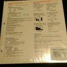 Prentince Hall Mathematics Course 1 MathNotes set of 10 Classroom set