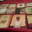 African American general assorted birthday greeting card Multi Color various