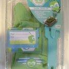 NEW Jr.GARDEN starter set+gloves+guide+stake+box+label+KID/CHILDREN KIT 2 COLORS