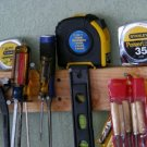 """New retracting tape measure 16' foot/feet measuring+locking+3/4""""wide+hand strap!"""
