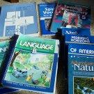 Abeka 5th Grade Language Arts Curriculum 9 Book Lot