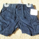 Boys Old Navy Brown/Blue Shorts Size 0/3 M 3/6 M NWT
