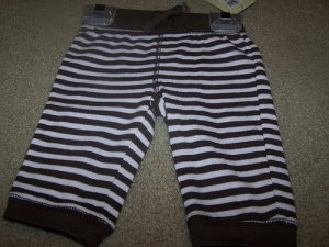 Girl Old Navy Striped Pants Size 3/6 Months Brand New