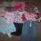 Girls Old Navy Gymboree 0-6 Months Toddler Huge Brand New LOT Winter Baby Gift