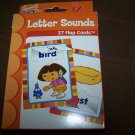Dora Pre-K Letter Sounds Flap Flash Cards Homeschool
