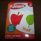 Playskool First Words Flash Cards + Reward Stickers