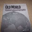 Abeka Old World History & Geography Grade 5 Book Lot