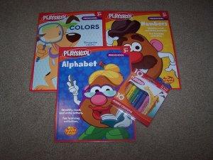 Mr. Potato Head Preschool Homeschool Workbook Lot NEW