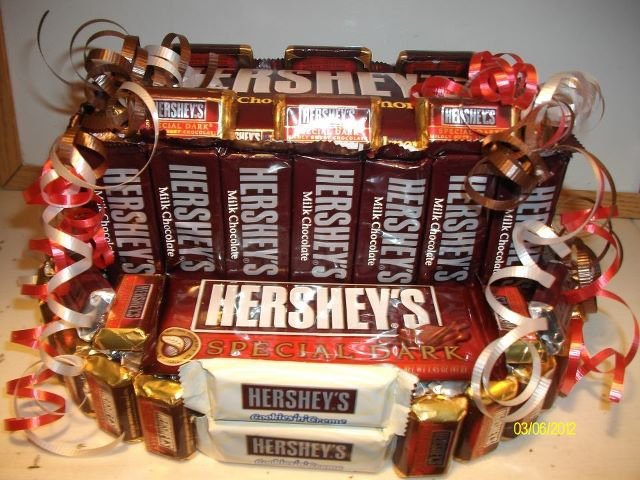2 Tier Everything Hershey's Candy Bar Cake