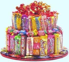2 Tier Candy Bar Cake