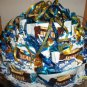 "9"" Round Rice Krispy, Heath and Rolo Candy Bar Cake"