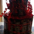 Hershey's Full Size Candy Bar Cake