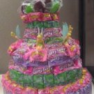 Tinker Bell Mixed Candy Bar Cake