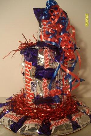 BabyRuth Small Candy Cake