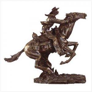 Pony Express figurine