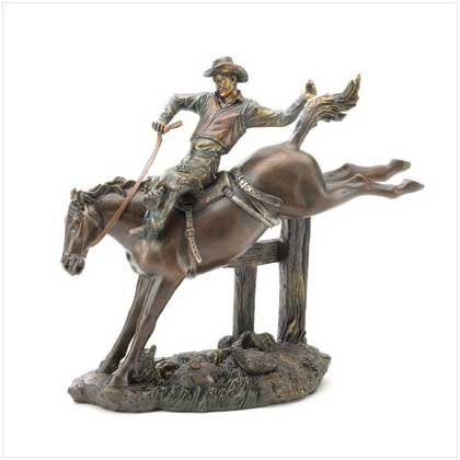 Bucking Bronco Figurine