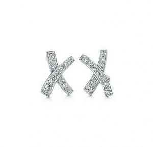 Platinum Diamond Paloma Pico X Earrings