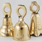 Small Clear Toned Brass Bell