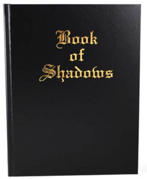 """Large """"Book of Shadows"""" Journal 8 1/2"""" x 11"""" (hc)"""