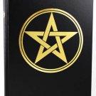 "Large Pentagram Book of Shadows 8 1/2"" x 11"" (hc)"