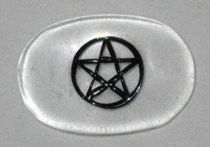 Pentagram Gratitude Stone