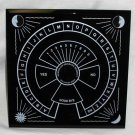 "Pendulum Dowsing Board 8"" X 8"" Glass"