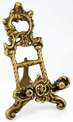 "Brass Scrying Mirror 6"" holder"