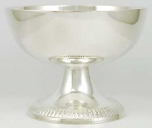 Pentagram Raised Offering and Scrying Bowl