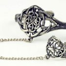 Celtic Slave Bracelet With Ring