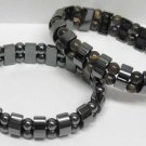 Magnetic Hematite Bracelet With Colored Beads