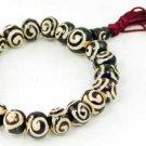 Tibetan Spiral Bead Bracelet