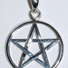 Interwoven Pentagram silver