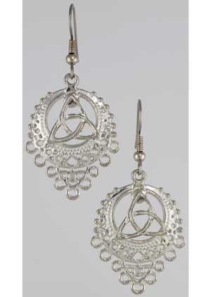 Triquetra Filligree Earrings