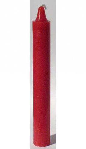 """Red 6"""" Taper Candle"""