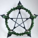 Pentagram Tealight Wall Sconce Candle Holder