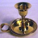 Brass Chamberstick Taper candle holder